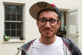 Alex Jeffrey, 27, is the executive director and founder of the D.C. chapter of the National Organization for the Reform of Marijuana Laws. Jeffrey lives with Bobby and the two men split the rent. SHFWire Photo by Matias J. Ocner